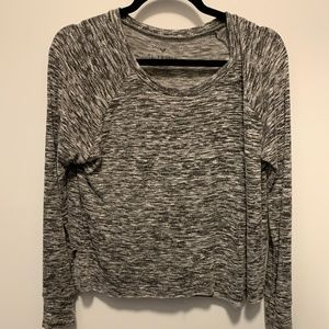 American Eagle Soft & Sexy Heather Grey Sweater